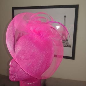 gorgeous Pink head piece!